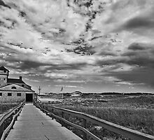 The Old Lifesaving Station - Cape Cod by Lightengr