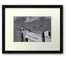 Flying Cloud Framed Print