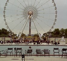 Great Wheel, Paris by KUJO-Photo