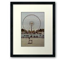 Great Wheel, Paris Framed Print