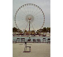 Great Wheel, Paris Photographic Print