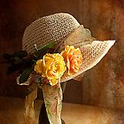 If you can&#x27;t get ahead get a hat !! by Irene  Burdell