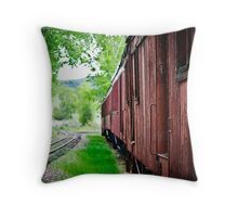 Passengers of Days Gone By Throw Pillow