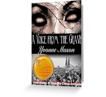 A Voice From the Grave First Place  2012 CIPA EVVY Award Winner  Greeting Card