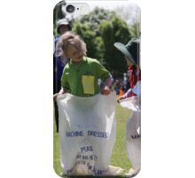 Sporting Sack Race iPhone Case/Skin