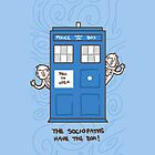 The Sociopaths Have the Box- iPhone/iPod case by geothebio