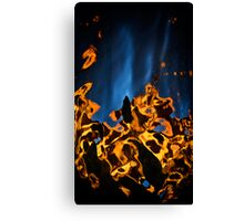 Liquid Fire Canvas Print