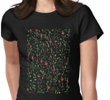 Woodland Floor Womens Fitted T-Shirt