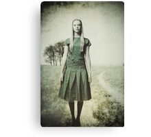 Quite Contrary Canvas Print