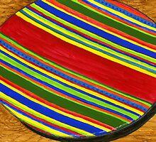 Festive Serving Platter by bernzweig