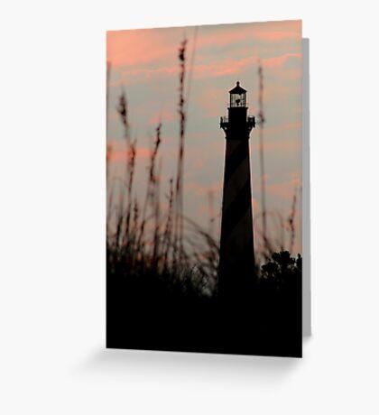 Hatteras Light Greeting Card