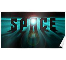 Space Stars Trek Sci fi Poster