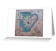 One cold, December morning... Greeting Card