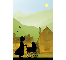 Childhood Dreams, The Pram Photographic Print