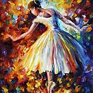 SURROUNDED BY MUSIC- OIL PAINTING BY LEONID AFREMOV by Leonid  Afremov