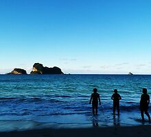 Cathedral Cove by HeatherORourke