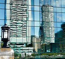 Shimmering View of the Federal Reserve Bank in Boston  by Jack McCabe