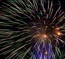 Kaboom - Fireworks on the Fourth by Kenneth Keifer