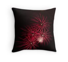 Pyrotechnics Pattern Throw Pillow