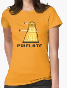 Pixelate Womens Fitted T-Shirt