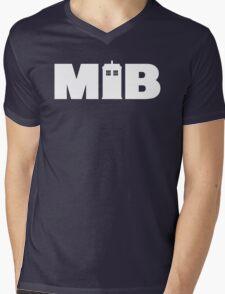 Man In Box Mens V-Neck T-Shirt