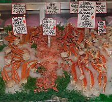 Fresh Fish in Pike Place Market, Seattle, USA by Keith Larby