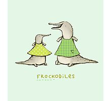 Frockodiles Photographic Print
