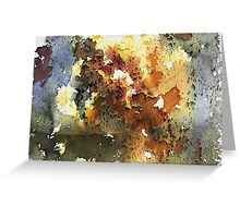 Rustica.  Earthy colors and rusted metal textural photographic design Greeting Card