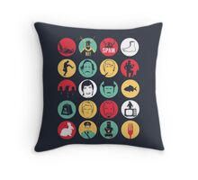 And Now for Something Completely Different  Throw Pillow