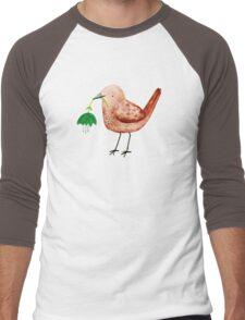 Bird & Flower Men's Baseball ¾ T-Shirt