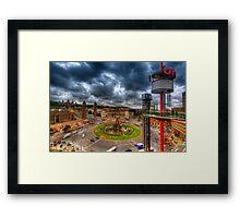 Plaza de Espanya - Barcelona Framed Print