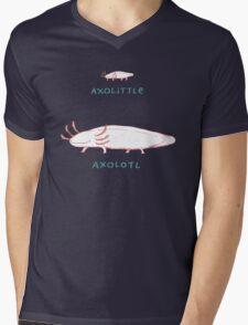Axolittle Axolotl Mens V-Neck T-Shirt