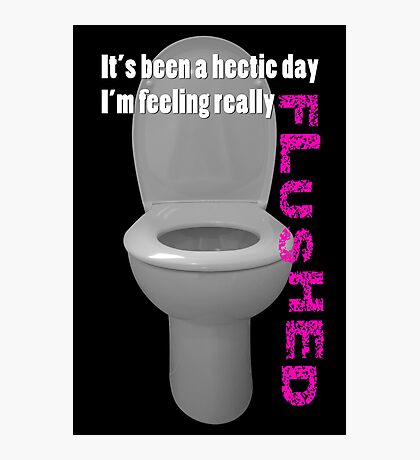 Toilet Humor Photographic Print