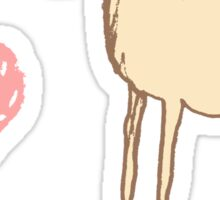 I ❤ Horses Sticker