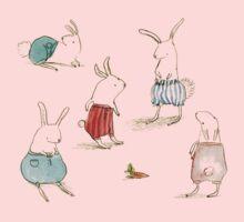 If Rabbits Wore Pants Kids Tee