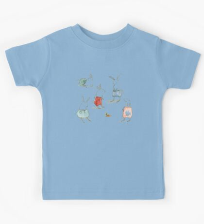 If Rabbits Wore Pants Kids Tee