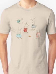 If Rabbits Wore Pants Unisex T-Shirt