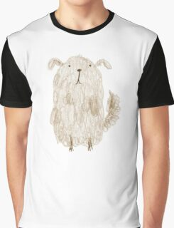 Fluffy Dog Graphic T-Shirt