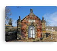 The Old Mortuary Canvas Print