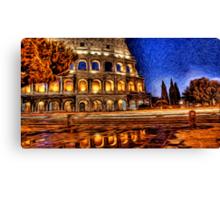 Romo Colosseum Oil Painting Canvas Print
