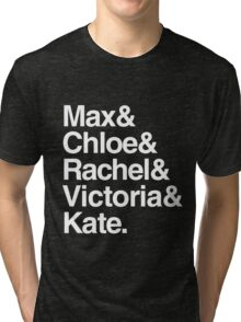 Life Is Strange Character Names Tri-blend T-Shirt