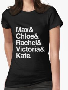 Life Is Strange Character Names T-Shirt