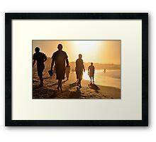 Main Beach Framed Print