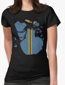 Vault dweller Womens Fitted T-Shirt