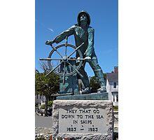 Fisherman's Memorial Gloucester, MA  Photographic Print