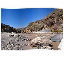 Chile, River Maipo, 2, Poster