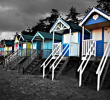 Wells beach hut by Mark Bunning