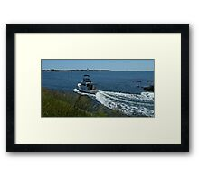 The Cruise of the Phoenix  Framed Print