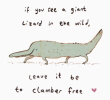 Wild Lizard Kids Tee