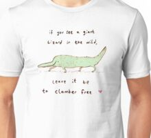 Wild Lizard Unisex T-Shirt